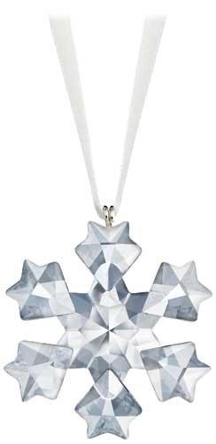 Swarovski Crystal 2010 Annual Little Snowflake Ornament