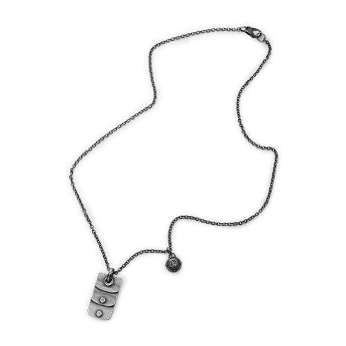 Diesel Stainless-Steel Biker Necklace Dx0758040