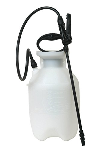 New! 20000 Poly Lawn and Garden Sprayer For Fertilizer, Herbicides and Pesticides, 1 Gallon by Chaba