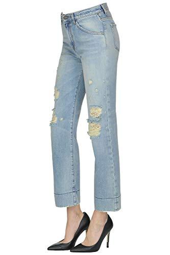 BLUE Cotone Jeans Blu BLEU MCGLDNM000004033I DE Donna 4Crz4qUw