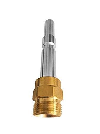 PROFESSIONAL f/ür K/ärcher Kr/änzle NILFISK ALTO WAP HD HDS Anschluss 1//8 AG : M22 x 1,5 IG /& Bajonett-Adapter /& Adapter KEW /& 2x D/üsen /& Quick Connect 40 Meter 7-Teilig Rohrreinigungsschlauch