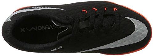 NIKE Youth Hypervenomx Phelon III Indoor Shoes [Black] (4.5Y) by NIKE (Image #7)
