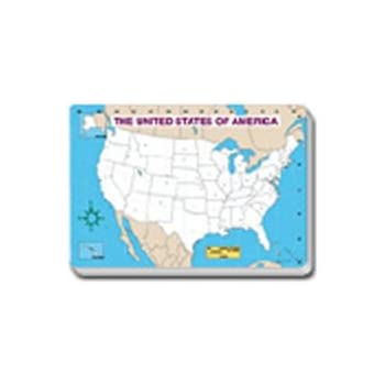 Amazon blank world map pad wall maps office products cd 3091 jumbo map pad us blank 30pk gumiabroncs Image collections