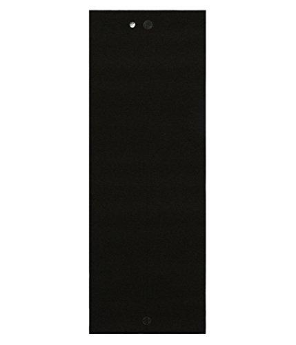 yogitoes Yoga Mat Towel, (Mat Onyx)