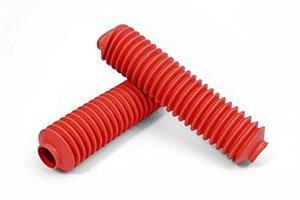 Daystar KU20002RE Shock Boots & Zip Ties Bagged Pair Red