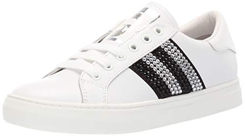 Empire Strass Low TOP Sneaker, White/Black Multi 38 M EU (8 US) ()