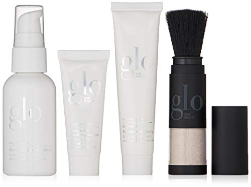 Glo Skin Beauty Calm Travel-Size Skin Care Kit for Sensitive Skin, 4 Ct. from Glo Skin Beauty