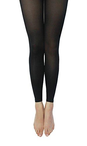 [NovaLava] Womens Semi Opaque 80 Denier Footless Pantyhose ...