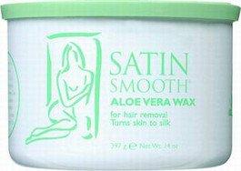 Satin Smooth Aloe Vera Wax 14 oz. (CON141) (Satin Smooth Aloe)