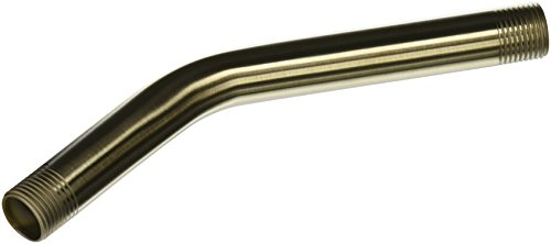 Brushed Nickel Shower Arm (Moen 123815BN  8-Inch Shower Arm, Brushed Nickel)