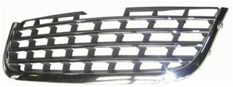 Grille - Touring,limited (Chr Fins) Capa Chrysler Town & Country Mini Van 2008-2010