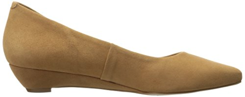 Corso Como Dames Judical Wedge Pump Camel Kid Suede