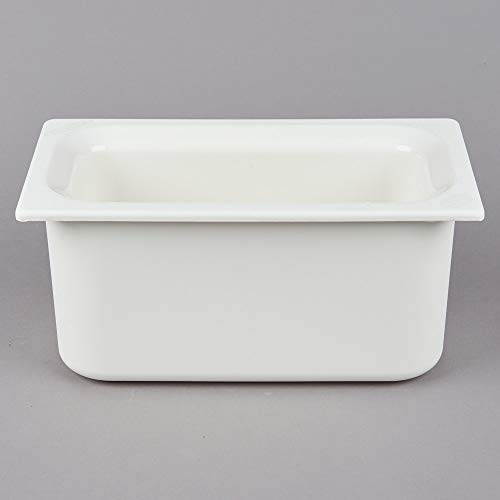 TableTop King CM110202 Coldmaster 1/3 Size White Cold Food Pan - 6