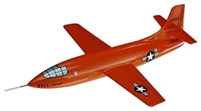 Mastercraft Collection Bell X-1 Wood Model Aircraft Scale: 1/37