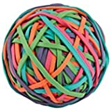Office Depot(R) Brand Rubber Band Ball, Multicolor