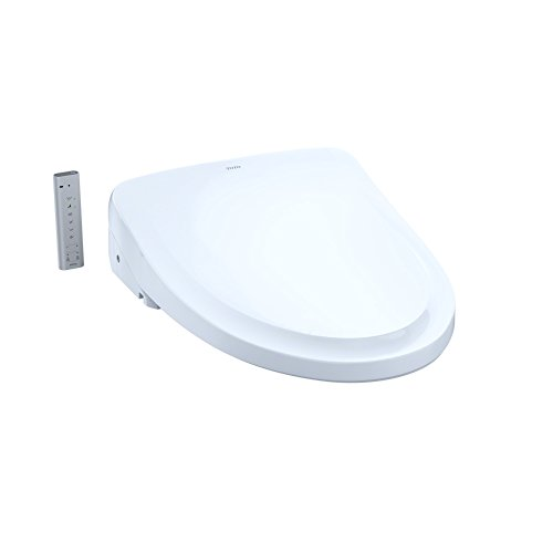 TOTO SW3054#01 S550e WASHLET Electronic Bidet Toilet Seat with Ewater+ and Auto Open and Close Classic Lid, Elongated, Cotton White