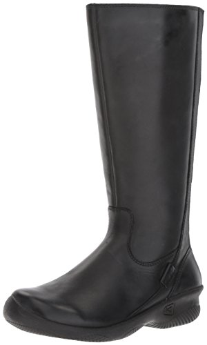 Bern Black Boots - KEEN Women's Baby Bern ii Wide-w Rain Boot, Black, 9.5 M US