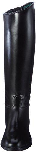 Stivali nero con elastico da HKM uomo equitazione e da lunghi inserto ampi Rxwa1qZ