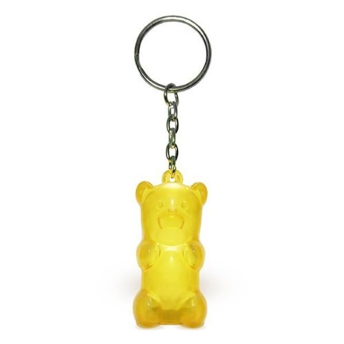 GummyGoods Yellow Gummy Light Up Keychain product image
