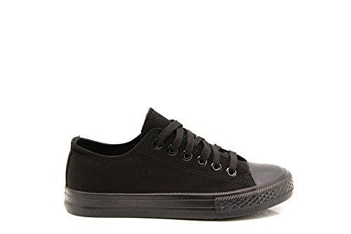 donna MODELISA All Nero Black Sneaker YwUXCxBqOR