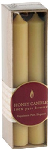 Honey Candles Pure Beeswax Column 6