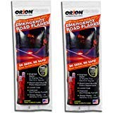Orion Safety Products - 15 Minute Road Flares with Free Neon Light Stick (1 Pack of 3 Flares) - 2 -