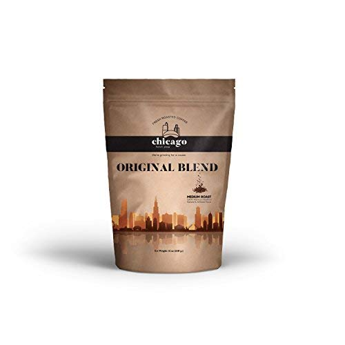 Chicago French Press - Whole Bean Coffee, 12-Ounce Bag (Original Blend)