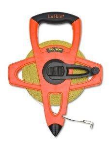 Lufkin FM060CME 2-Sided, Metric/English 13mm1/2-Inch x 60m 200-Foot Hi-Viz Orange Fiberglass