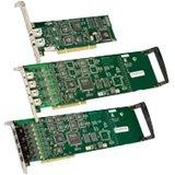 Dialogic Diva UM-Analog Intelligent Fax Board - 8 Communication Lines - Analog - Group 3 - PCI Express - 306-390