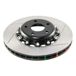 DBA 5000 Series Slotted Front Brake Rotors - 09+ GT-R