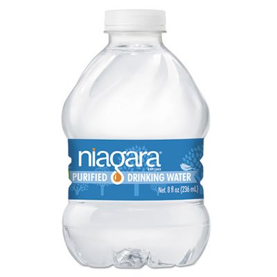 Purified Drinking Water, 8 oz Bottle, 24/Pack, 4368/Pallet by Niagara® Bottling