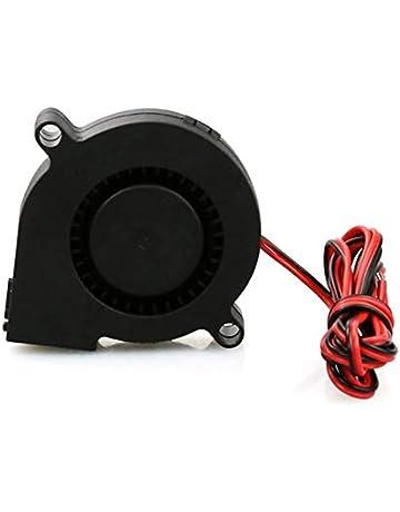 AgoHike 1pcs Mini Cooling Fan 3D Printer Parts 5015 Radial Turbo Blower Fan DC 12V Cooling