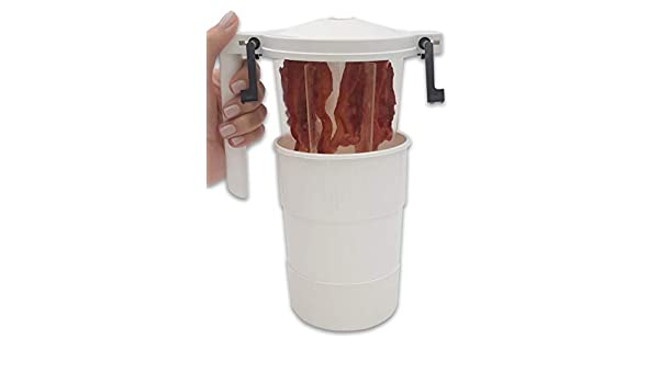 Recipiente WowBacon+ P5 para cocinar bacon en el microondas ...