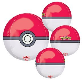 16 Pokeball Orbz Xl Balloon product image