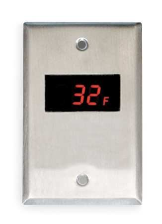 Switch Plate Thermometer, -40 to 230