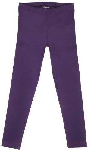 Little Girls Leggings Purple Large