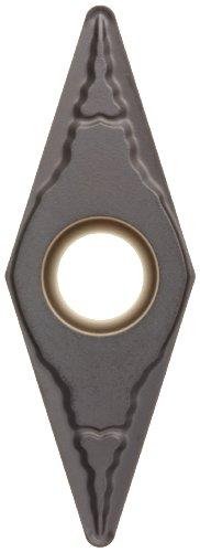 Sandvik Coromant CoroTurn 107 Carbide Turning Insert, VBMT, 35 Degree Diamond, PR Chipbreaker, GC4205 Grade, Multi-Layer Coating, VBMT 333-PR, 3/8