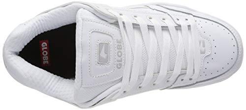 Da Skateboard Tilt Globe white Uomo Bianco Scarpe 11058 white wHxHPqFE