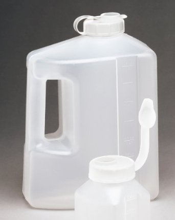 Arrow Plastic Store Keepers Refrigerator Bottles, 1 Gallon - 2 Count (Refrigerator Beverage Container compare prices)