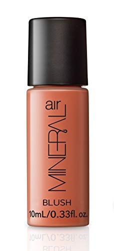 Mineral Blush Airbrush Blush Makeup Rose Petal Buildable 10-Hour Liquid Cheek Color for Mineral Air Mist Device 10 ml, Travel Size