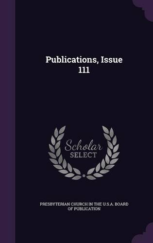 Publications, Issue 111 PDF