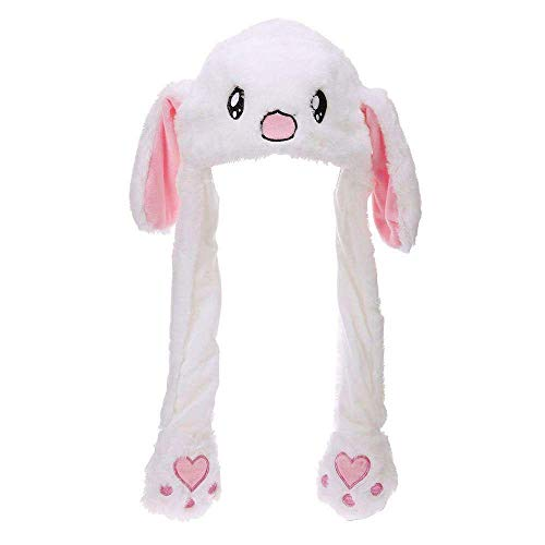 ith Moving Ears, Funny Soft Plush Moveable Bunny Cap ()