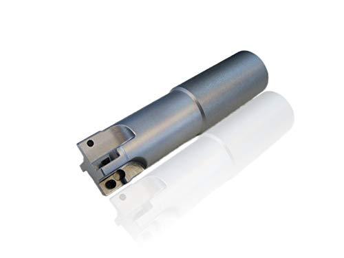 CNC Wendeplattenfräser 90° Schaftfräser D=25mm Z=4 L=100mm NL=52mm für APKT 1003