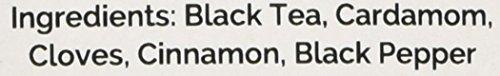 Indiens Original Masala Chai Tee (50) Tassen) - Würziger Chai, Loose Leaf (Lose Blätter) Tee - Köstliche Mischung aus schwarzem Assam CTC Tee mit frischen indischen Gewürzen - Kardamom, Zimt, Schwarzer Pfeffer & Gewürznelken , Gemischt & aus Indien geliefert, 100g