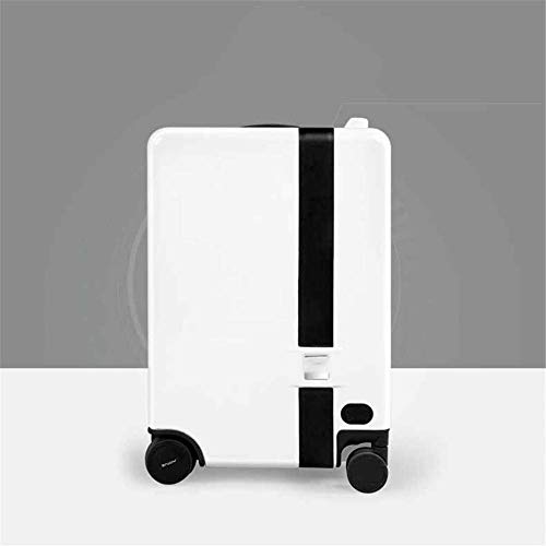 DLYGH Luggage Sets 20 inch smart luggage baggage Intelligent automatic follow electric suitcase travel can ride trolley…