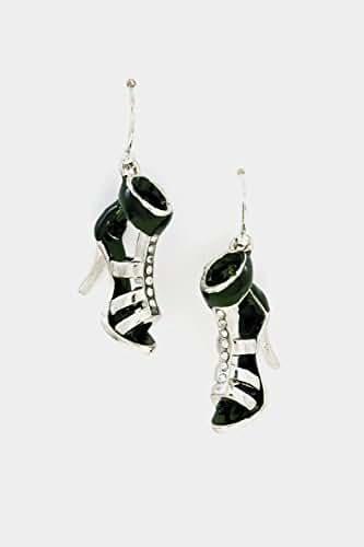 Trendy Fashion Jewelry Epoxy Heels Dangle Earring By Fashion Destination