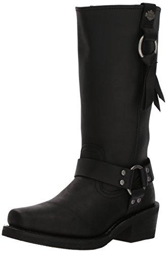 Harley-Davidson Women's Fenmore Motorcycle Boot, Black, 8.5 Medium US ()