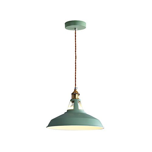 (M-zmds Ceiling Lights Nordic Metal Postmodern Macaron Multi-color Pendant Lights E27 1-light Metal Ceiling Hanging Lights for Cafe Living Room Indoor Lighting Basement Barn Pendant Lighting Fitting)