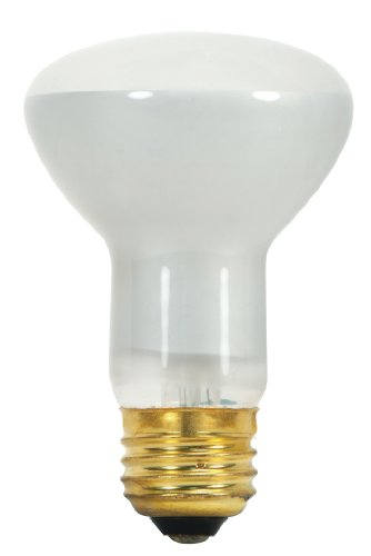 Satco S3229 120-Volt 45-Watt R20 Medium Base Light Bulb, (120 Volt R20 Medium Base)