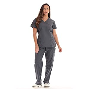 Just Love Women's Scrub Sets Medical Scrubs (Tie Back)